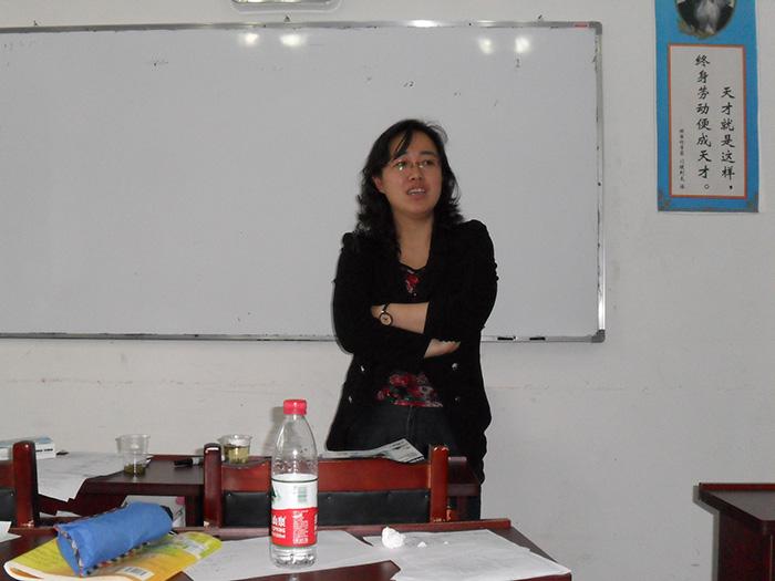 凯里语文名师-张老师