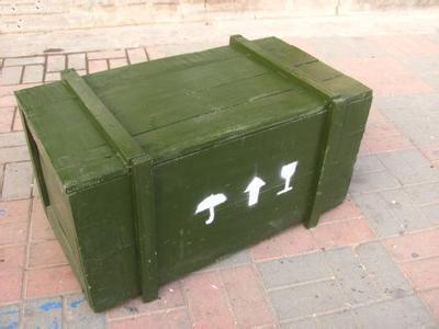 武汉军用品木箱定做
