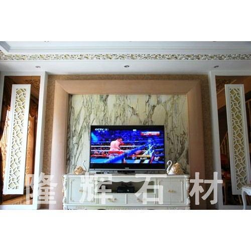 砂岩电视背景墙
