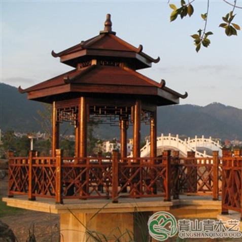 云南园林景观防腐木