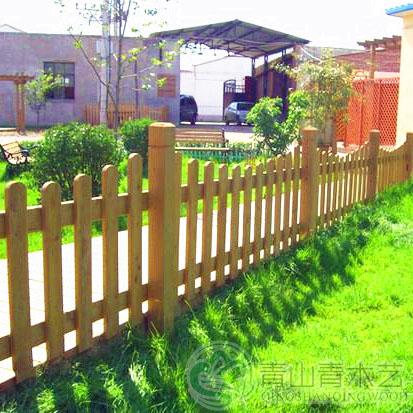 昆明防腐木护栏
