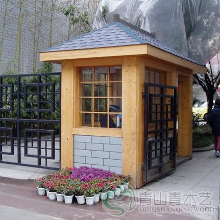 云南防腐木木屋建造
