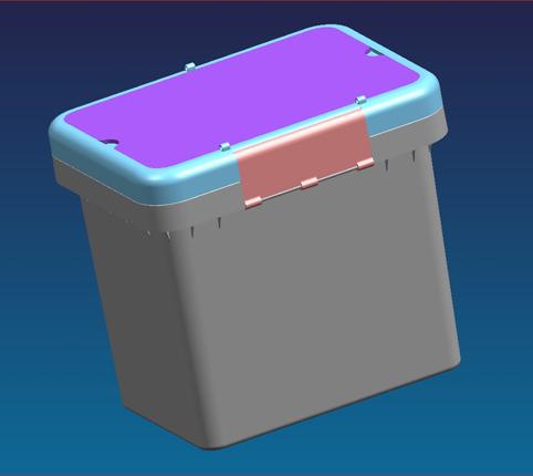 冰桶模具设计