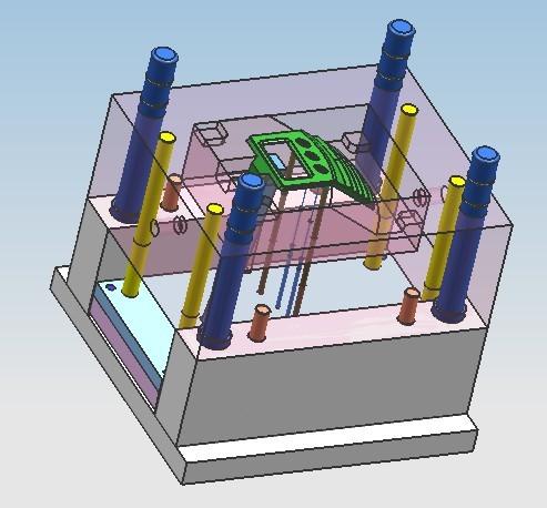 A模具设计,模具开发,模具画图