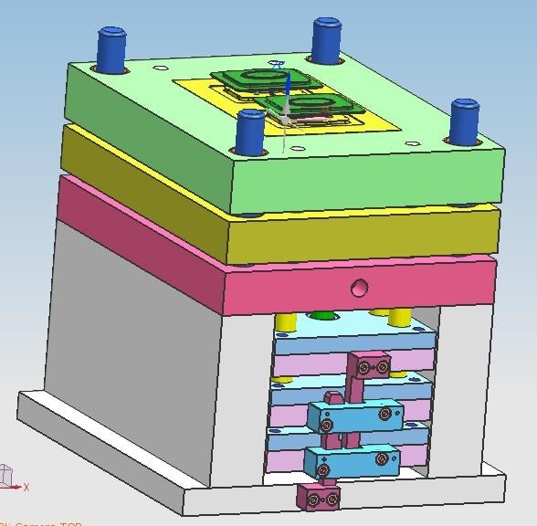 B模具设计画图,模具开发,产品生产