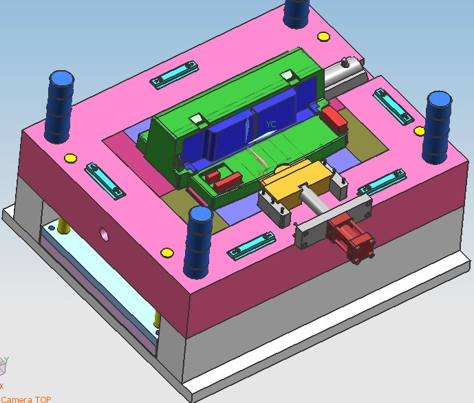 L打印机活动壳模具,电器塑料壳模具,电子塑料模具