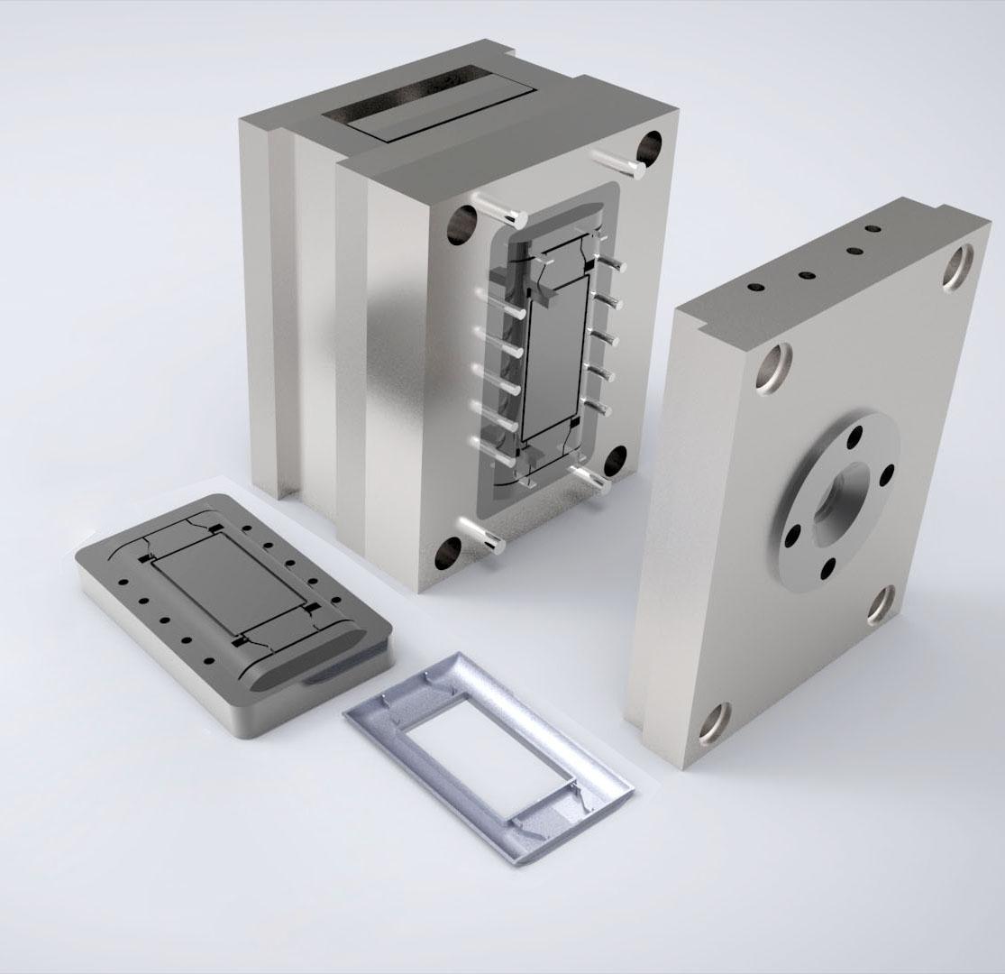 电器外壳模具设计加工制造