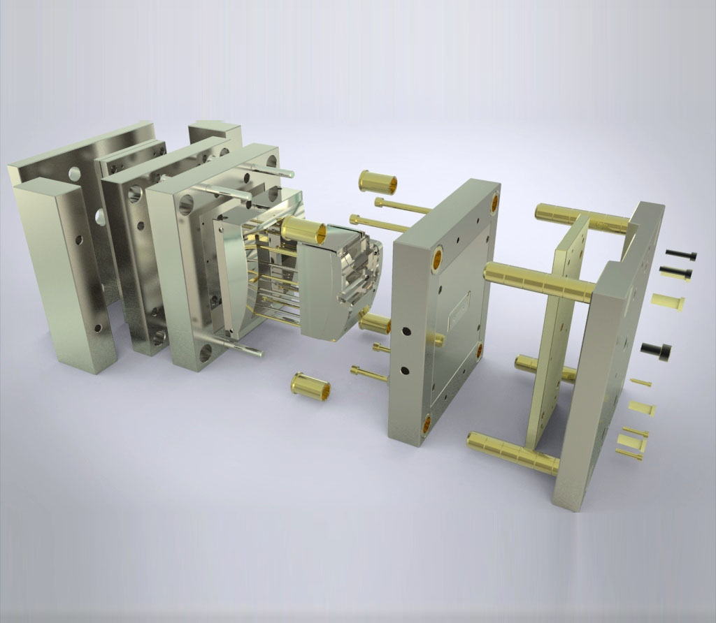 模具制造厂家塑料件开模加工