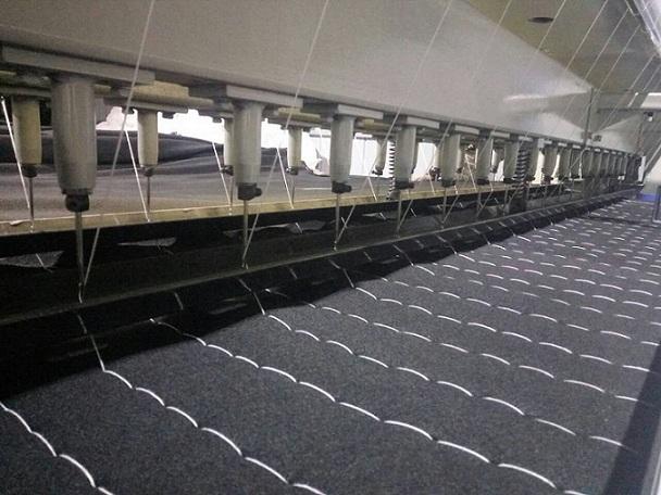 单线大棚棉被机