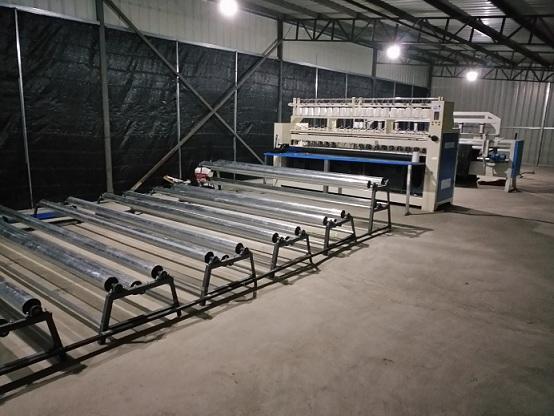 棉被生产线