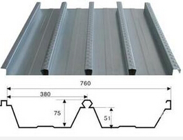 钢结构楼承板生产