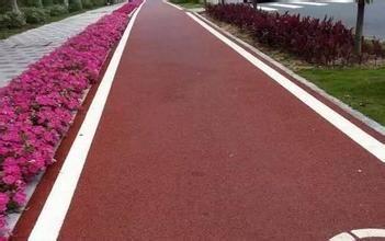 彩色沥青混凝土路面施工