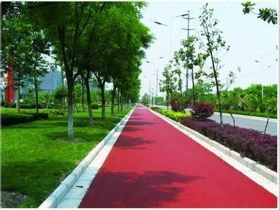忻州市彩色沥青混泥土路面