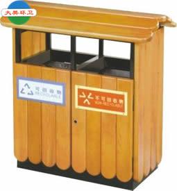 钢木垃圾桶生产厂家