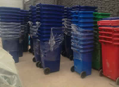 户外垃圾桶厂家石家庄新农村垃圾桶高大上 如何做好清洁