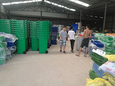 塑料垃圾桶生產