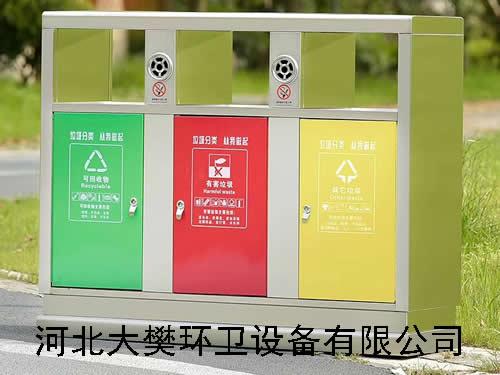室外不锈钢垃圾桶