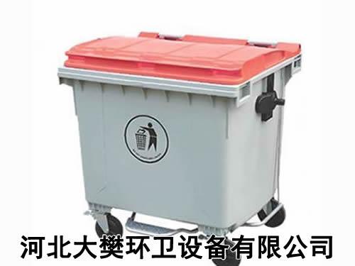 垃圾桶发放