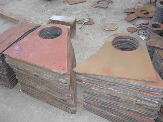 钢板数控切割加工方法