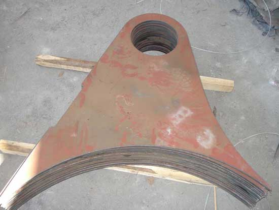 河南钢板数控切割加工工艺