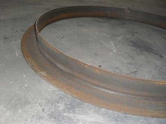钢板卷圆加工