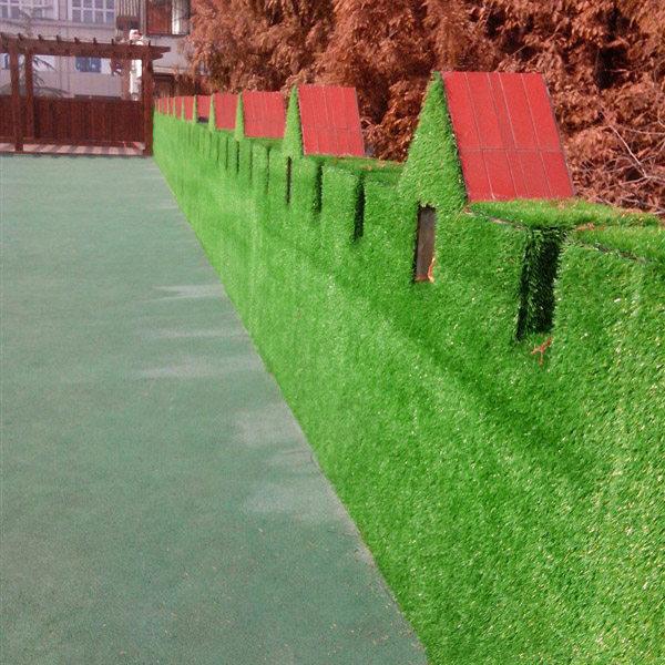 人造草坪上墙
