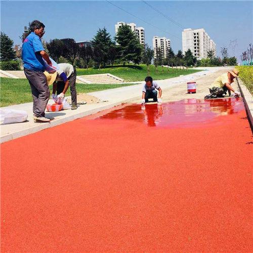 成都彩色防滑地坪材料