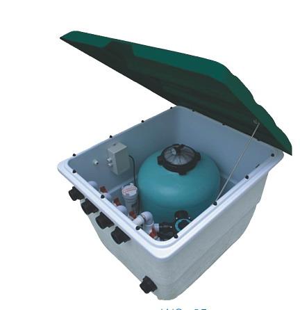 武汉游泳池水处理设备