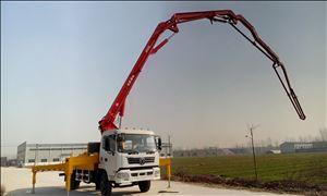 40米小型混凝土泵车