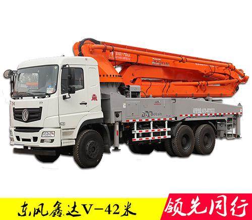 43米混凝土泵车