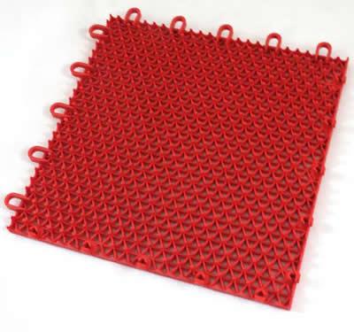 方格悬浮拼装地板