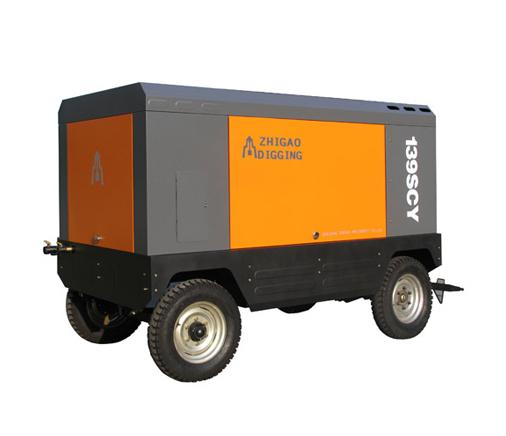 柴油移动螺杆式空压机