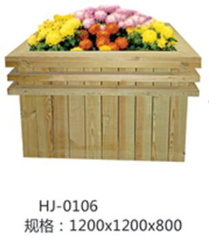 防腐木工艺花箱