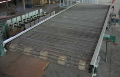 不锈钢网链输送线