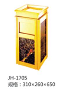 古典艺术垃圾箱