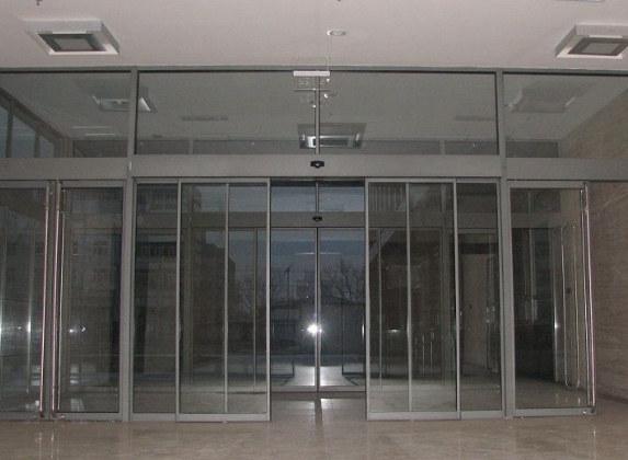 武汉玻璃感应门