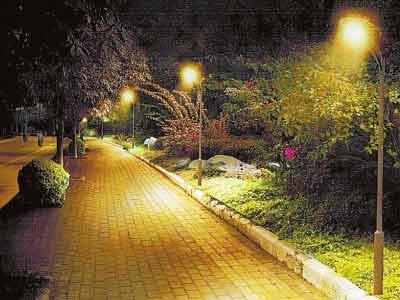 庭院路灯节能方案