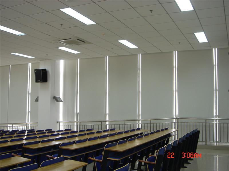 少年宫阶梯教室遮光卷帘