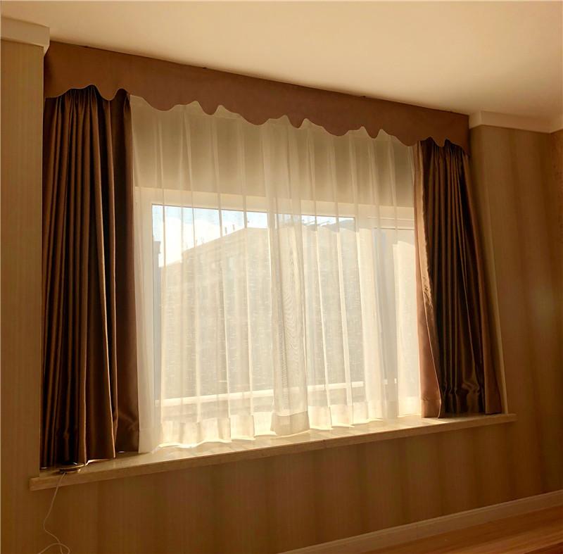 卧室布艺窗帘