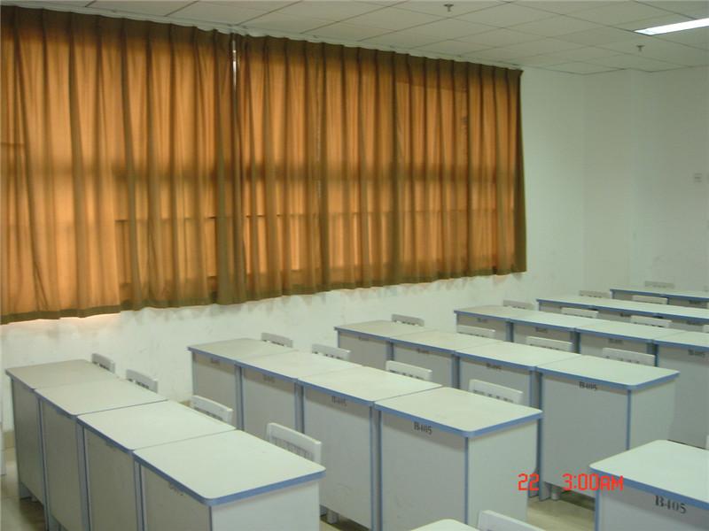 少年宫教室布艺窗帘