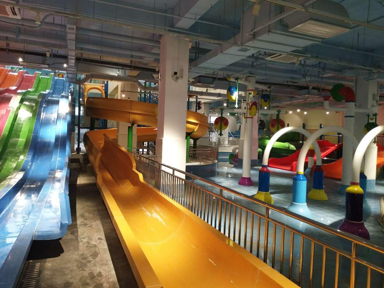 武汉国博中心袋鼠趣玩城水上乐园