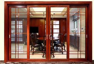 贵阳铝木复合门窗安装