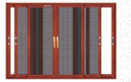 贵州防盗纱窗型材