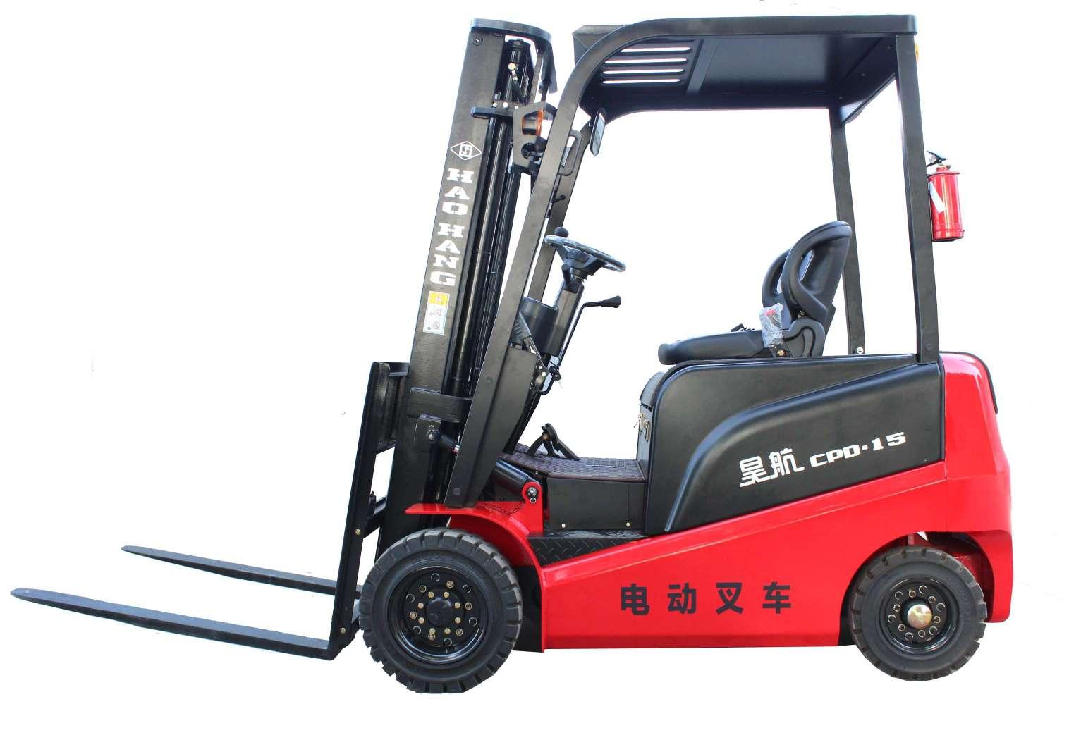 1.5噸電動叉車生產