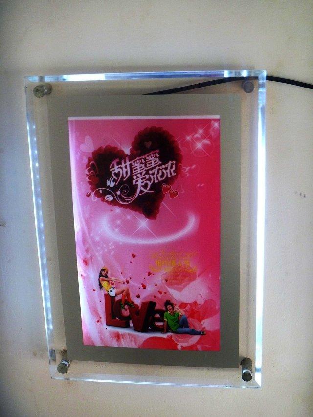 武汉led超薄水晶灯箱