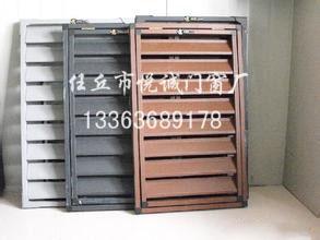 锌钢百叶窗型材生产厂家