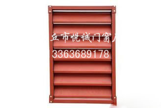 任丘锌钢百叶窗型材生产厂家