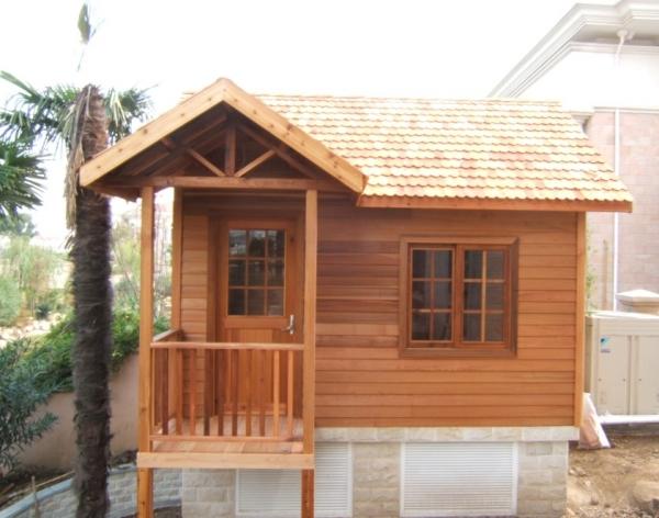 贵州防腐木木屋安装