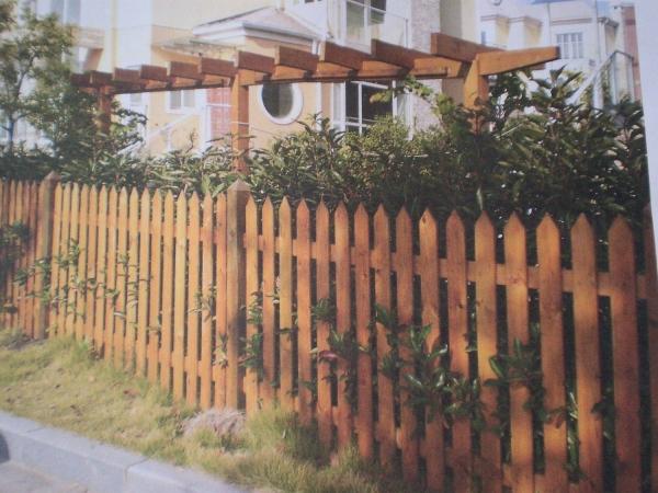 贵州防腐木栅栏