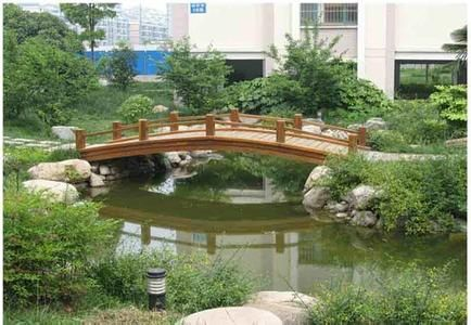 防腐木木桥制作